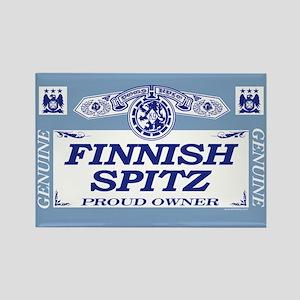 FINNISH SPITZ Rectangle Magnet