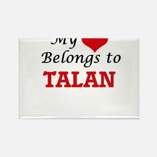 My heart belongs to Talan Magnets
