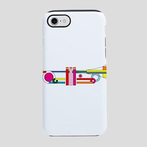 Colorful Trumpet iPhone 8/7 Tough Case