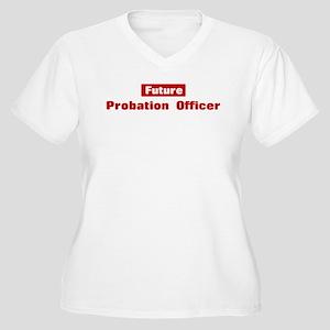 Future Probation Officer Women's Plus Size V-Neck