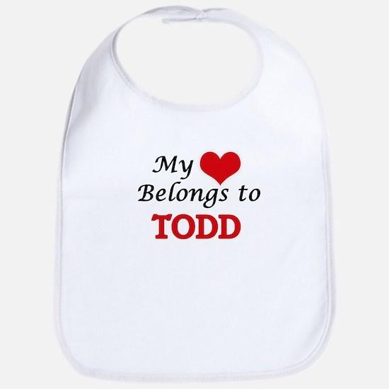My heart belongs to Todd Bib