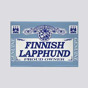 FINNISH LAPPHUND Rectangle Magnet