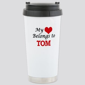My heart belongs to Tom Stainless Steel Travel Mug