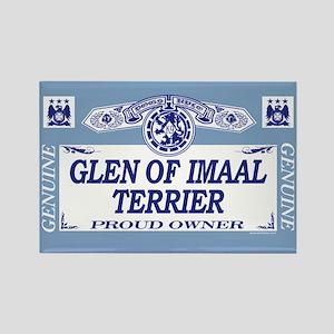 GLEN OF IMAAL TERRIER Rectangle Magnet