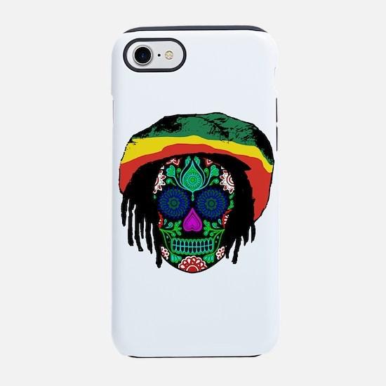 Funny Rastafarian iPhone 8/7 Tough Case