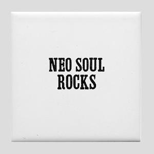 Neo Soul Rocks Tile Coaster