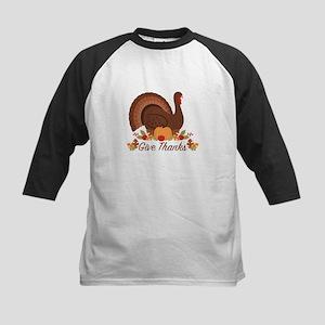 Give Thanks Turkey Baseball Jersey