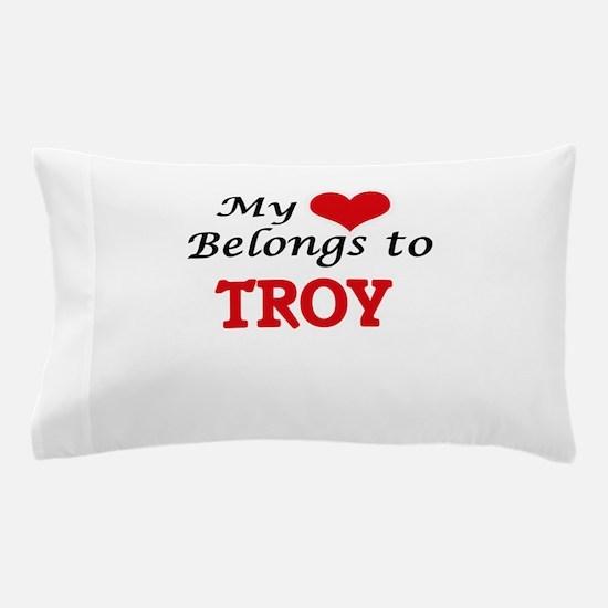 My heart belongs to Troy Pillow Case