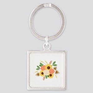 Fall Harvest Bouquet Keychains