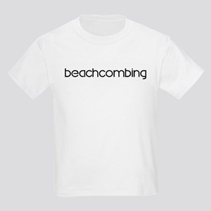 Beachcombing (modern) Kids Light T-Shirt