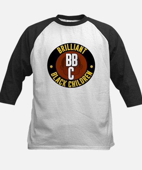 Brillian Black Children Baseball Jersey