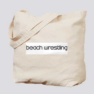 Beach Wrestling (modern) Tote Bag