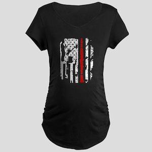 Clarinet Flag Shirt Maternity T-Shirt