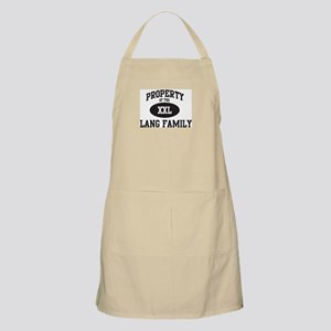 Property of Lang Family BBQ Apron
