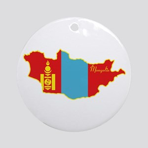 Cool Mongolia Ornament (Round)