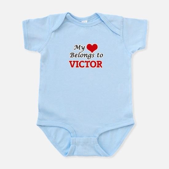 My heart belongs to Victor Body Suit
