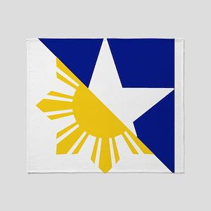 FilAm Flag Elements Throw Blanket