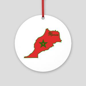 Cool Morocco Ornament (Round)