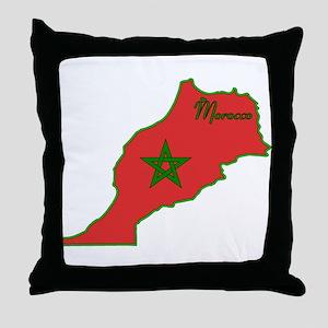 Cool Morocco Throw Pillow