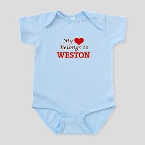 My heart belongs to Weston Body Suit