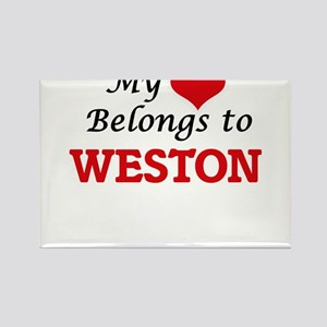 My heart belongs to Weston Magnets