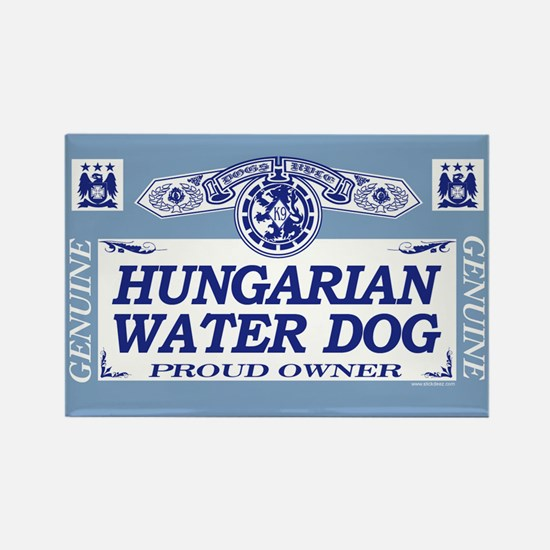 HUNGARIAN WATER DOG Rectangle Magnet