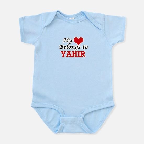 My heart belongs to Yahir Body Suit