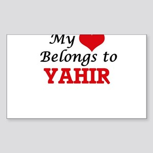 My heart belongs to Yahir Sticker