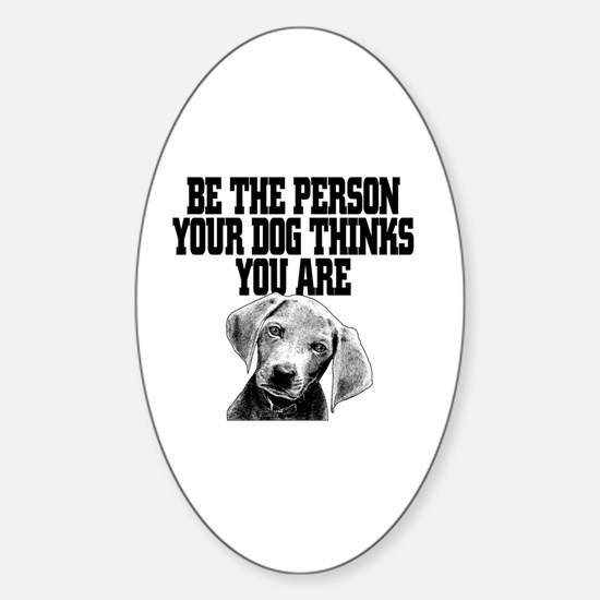 Obama dog Sticker (Oval)