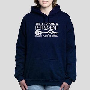 Retirement Plan On Playi Women's Hooded Sweatshirt