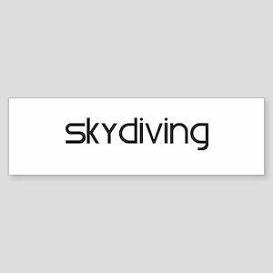 Skydiving (modern) Bumper Sticker