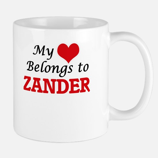 My heart belongs to Zander Mugs