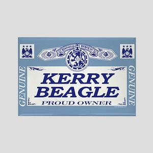 KERRY BEAGLE Rectangle Magnet