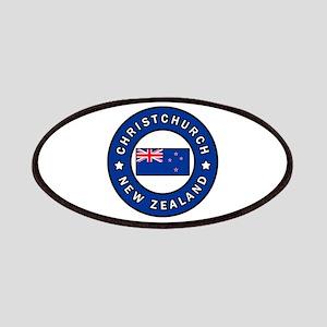 Christchurch New Zealand Patch