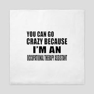 I Am Occupational Therapist Queen Duvet