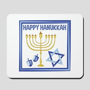 Happy Hanukkah Mousepad