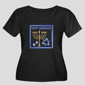 Happy Hanukkah Plus Size T-Shirt