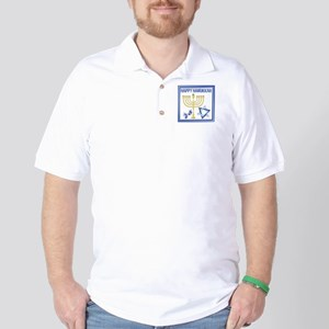 Happy Hanukkah Golf Shirt