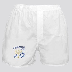 Hanukkah Wishes Boxer Shorts
