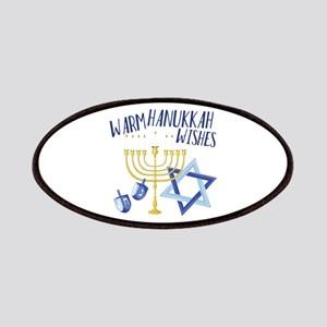 Hanukkah Wishes Patch