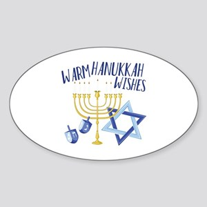 Hanukkah Wishes Sticker