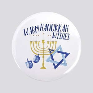 Hanukkah Wishes Button