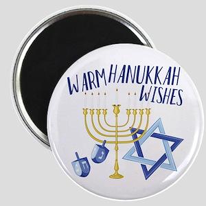 Hanukkah Wishes Magnets