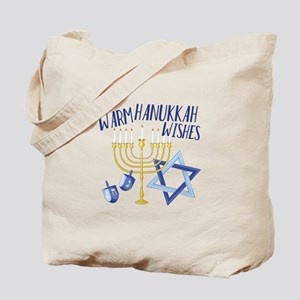 Hanukkah Wishes Tote Bag