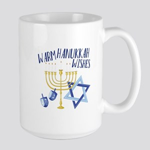 Hanukkah Wishes Mugs