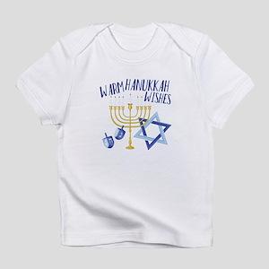 Hanukkah Wishes Infant T-Shirt
