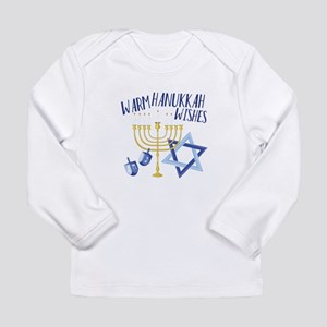 Hanukkah Wishes Long Sleeve T-Shirt