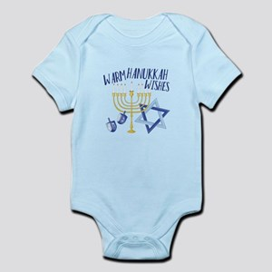 Hanukkah Wishes Body Suit