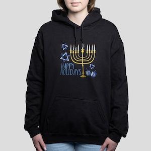Happy Holidays Women's Hooded Sweatshirt
