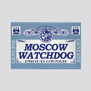 MOSCOW WATCHDOG Rectangle Magnet